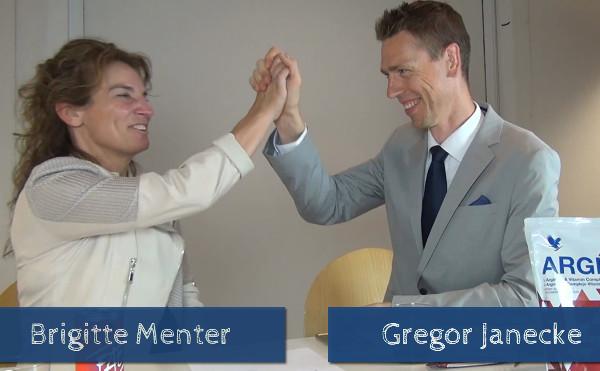 Brigitte Menter und Gregor Janecke