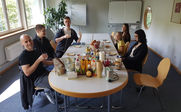 Frühstück beim Coworking in Memmingen