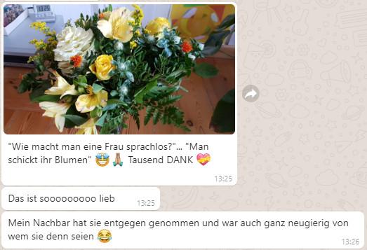 Fleurop Danke