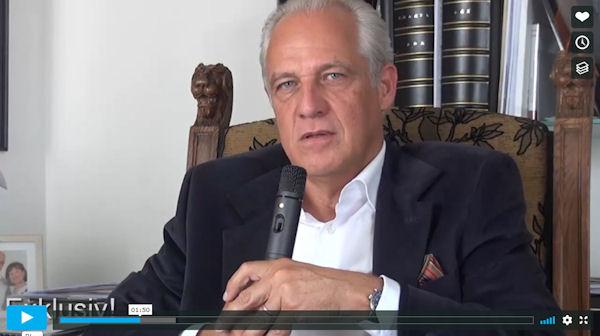 Dr. Markus Elsässer auf der Geheimnis-Party vom Aufsteiger-Training (Video)
