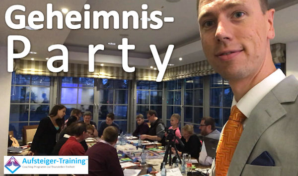 Geheimnis-Party in Memmingen