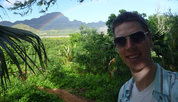 Gregor in Hawaii