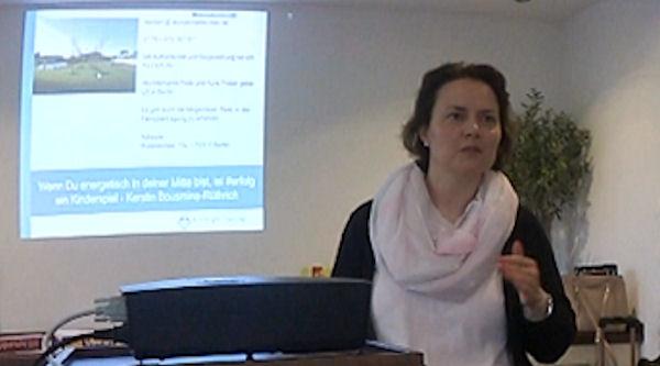 Kerstin Bousmina-Rüthrich – Vortrag zu Reiki