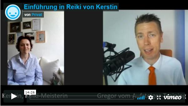 Kerstin im Reiki-Interview