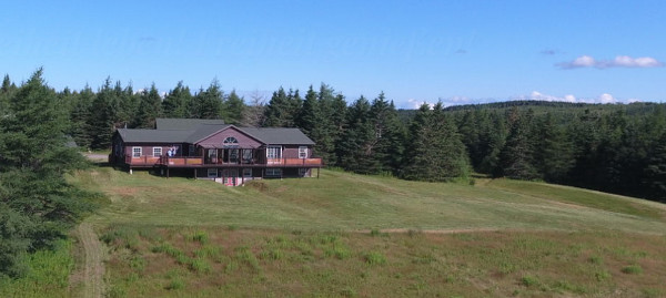 Wohnhaus auf Cape Breton