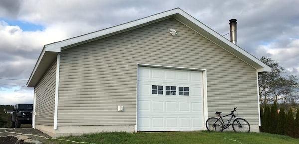 Beheizbare Garage Church Point Road
