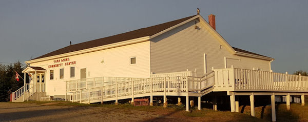 Tara Lynne Community Center in River Bourgeois