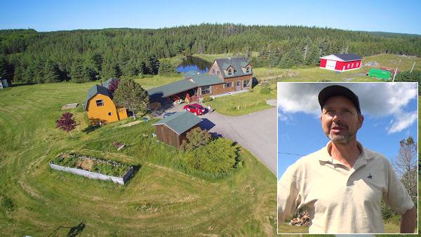 Frank Eckhardt auf Cape Breton