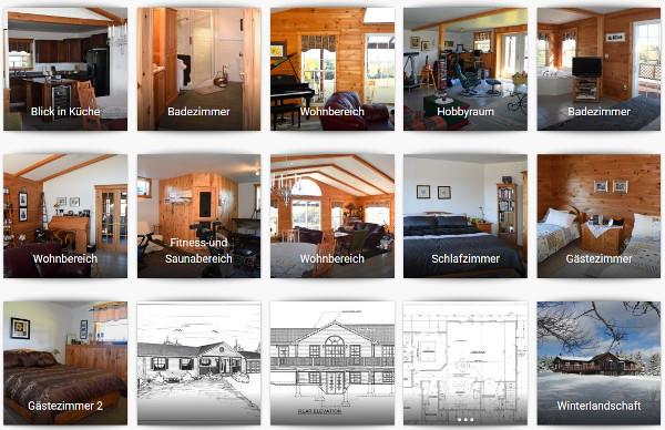 Grundriss und weitere Bilder vom Haus auf Cape Breton