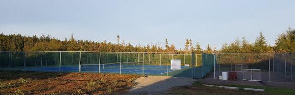 Tennisplatz River Bourgeois