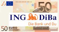 50 Euro Bonus für eine Kontoeröffnung