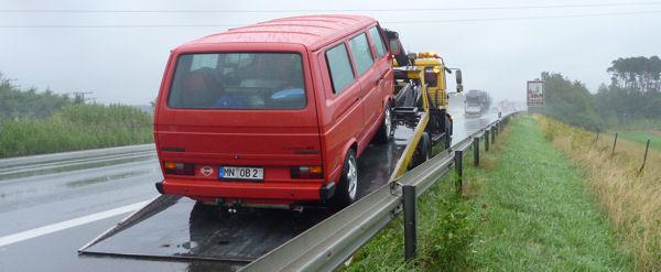 ADAC Autobahn, Abschlepper