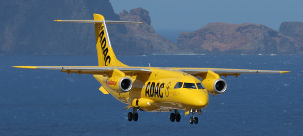 ADAC Flugzeug