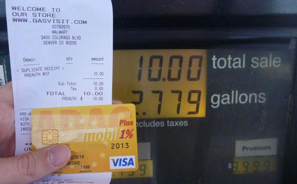Tanken mit der ADAC Prepaid Card in den USA.