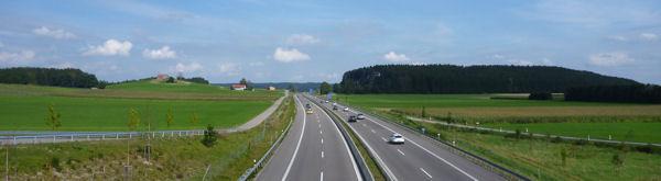 Allgäu-Autobahn A 96