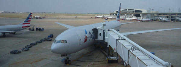 American Airlines in Dallas Fort Worth