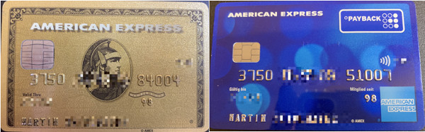 American Express Gold Payback