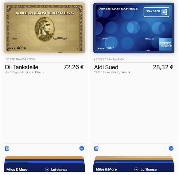 ApplePay-App American Express