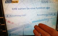 ATM Automat mit USD in Deutschland