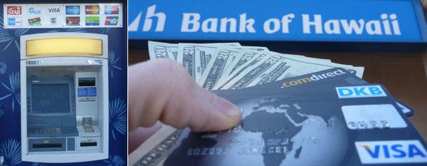 Банкомат на Гавайях