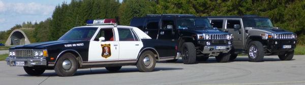 Auffälliger Limousinenservice