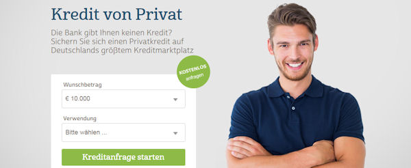 Auxmoney – Kredit von Privat