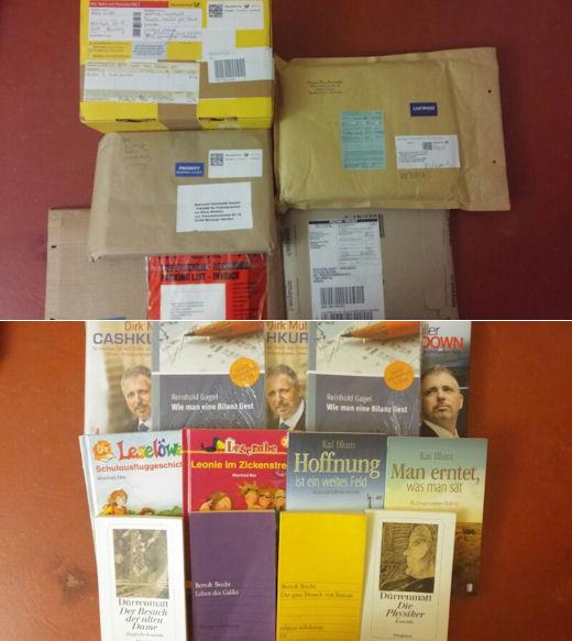 Bücherspende für die Ukraine
