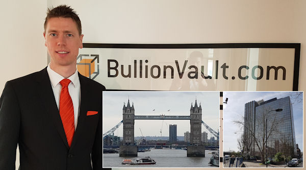 BullionVault London