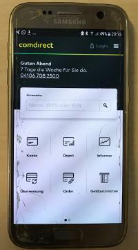 Comdirect Depot App