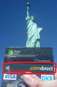 Comdirect Kreditkarte ist Testsieger