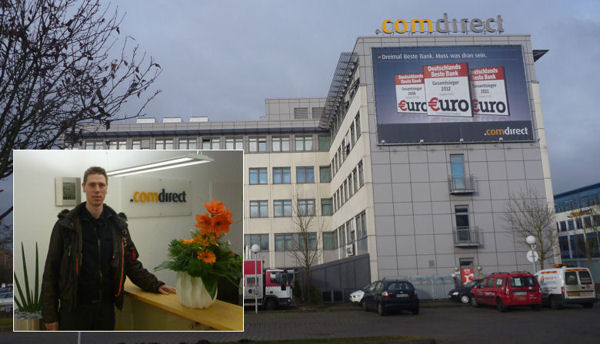 Comdirect Bank in Quickborn near Hamburg
