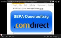 Video zum SEPA-Dauerauftrag