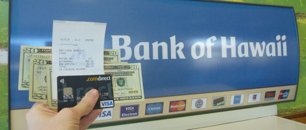 Comdirect Visa Card on Bank of Hawaii