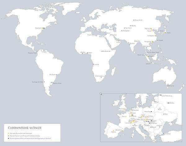 Commerzbank weltweit