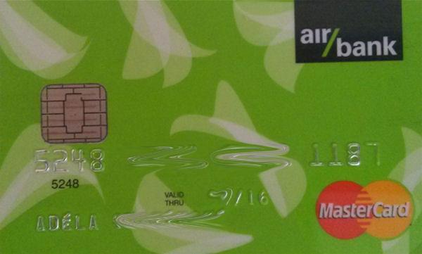 MasterCard der AirBank