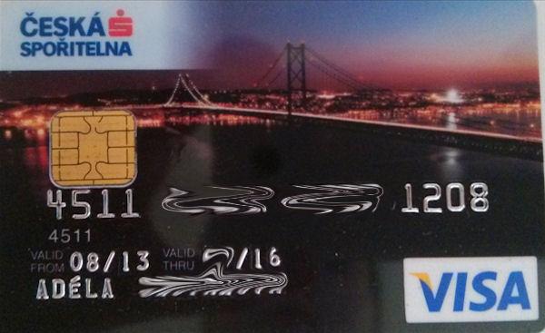 Česká spořitelna Card