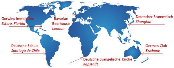 Alemanes en el extranjero.