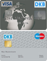DKB cards for authorized persons