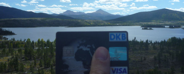 DKB Visa Card in Amerika