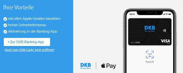 DKB Apple Pay