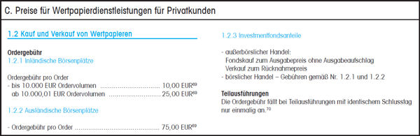 DKB Broker Konditionen