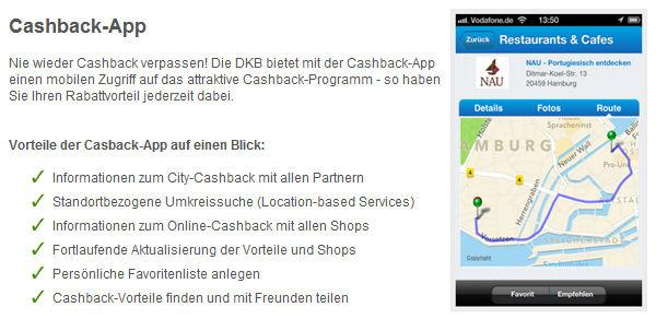 DKB Cashback App