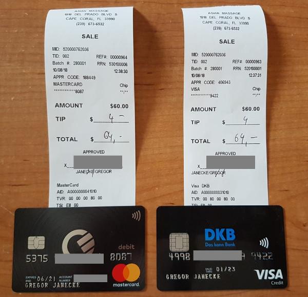 DKB und Curve Card