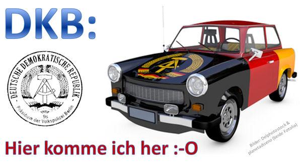 DKB kommt aus der DDR