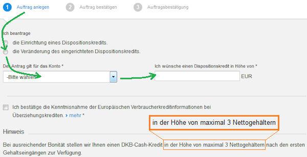 DKB Dispo  10.10 Euro sofort, später mehr  Anleitung wie!