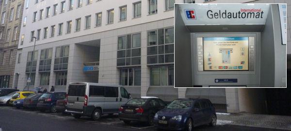 Rama DKB con ATM en Berlín