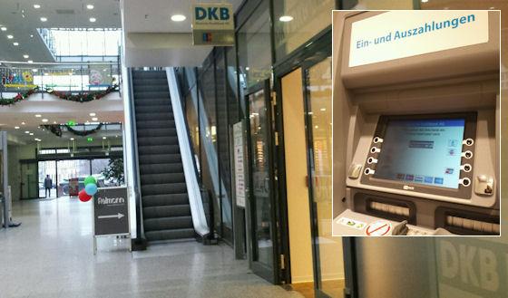 DKB Geldautomat in Gera