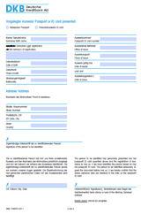 DKB ID-Form