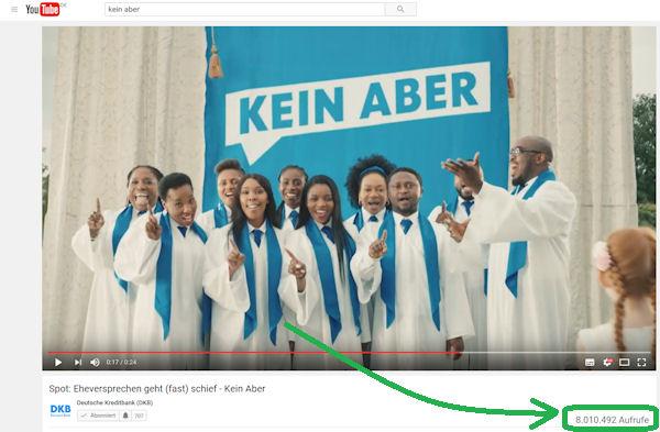 DKB: Kein Aber auf Youtube