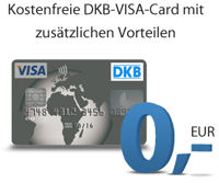 DKB Visa Card free of charge with additional benefits